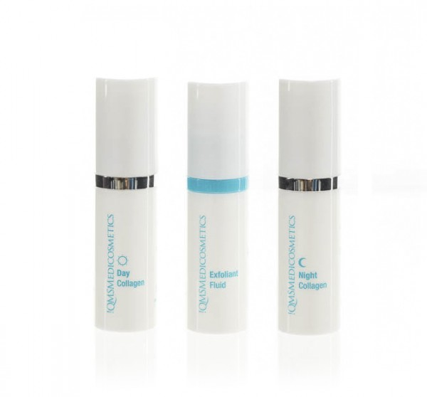 QMS Medicosmetics COLLAGEN SYSTEM 3 Step Routine Set Travel