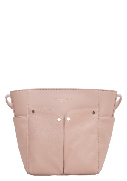 LIEBESKIND Duo Crossbody Medium - dusty rose