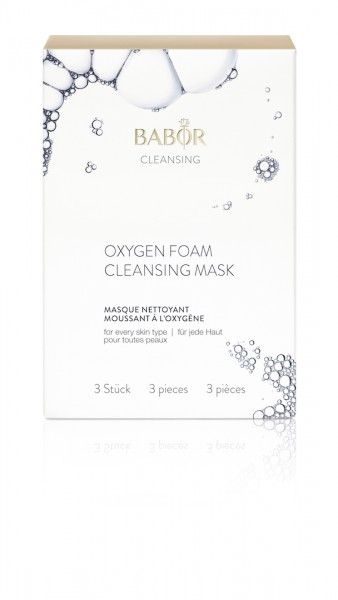 Babor Cleansing - Oxygen Foam Cleansing Mask (3 Stück)
