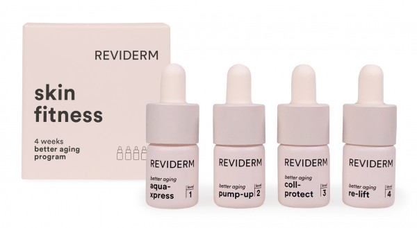 Reviderm Skin fitness Cure better aging program