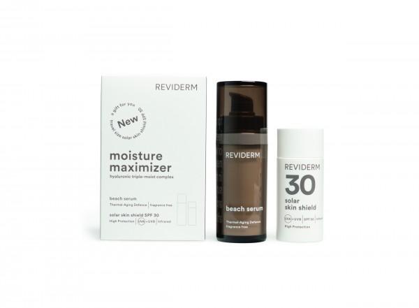 Reviderm Moisture Maximizer - Beach Serum & Solar Skin Shield SPF 30
