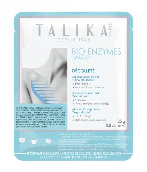 Talika Face_Bio enzymes Mask Décolleté
