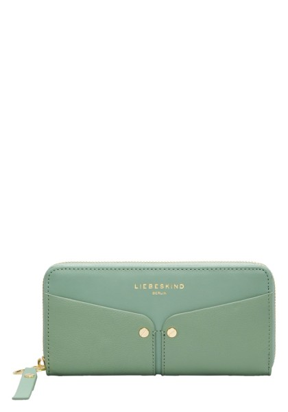 LIEBESKIND Duo Sally Wallet Large - hedge green