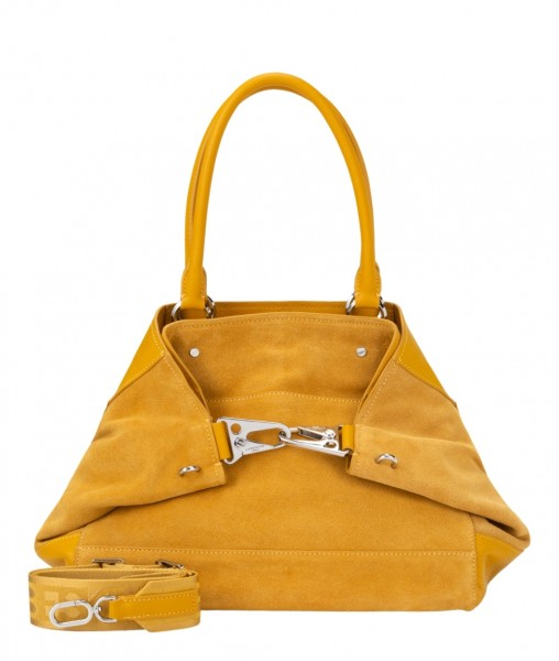 LIEBESKIND Folded Tote M - tawny yellow